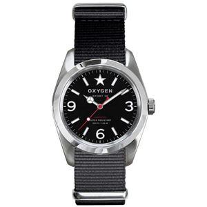 OXYGEN(オキシゲン) 腕時計 Sport 38(スポーツ38) Washington(ワシントン) ブラック