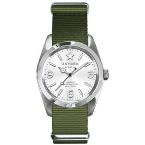 OXYGEN(オキシゲン) 腕時計 Sport 38(スポーツ38) Paris(パリ) シルバー