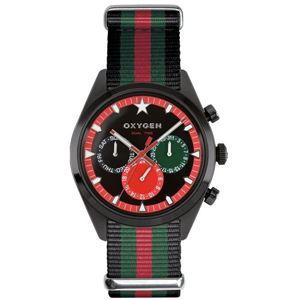 OXYGEN(オキシゲン) 腕時計 Sport DT 40(スポーツ ディーティー 40) Roma(ローマ) マルチファンクション ブラック
