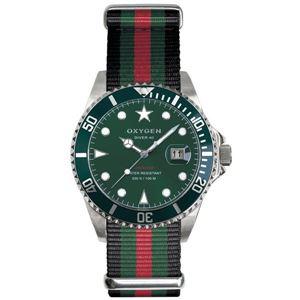 OXYGEN(オキシゲン) 腕時計 Diver 40(ダイバー 40) Campo(カンポ) グリーン