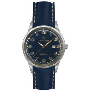 OXYGEN(オキシゲン) 腕時計 SPORT VINTAGE 40(スポーツ ヴィンテージ 40) Nevada(ネバダ) Classic Leather ネイビー