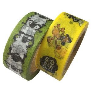 ひつじのショーン マスキングテープ 2絵柄×2セット