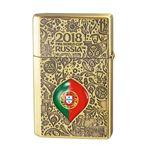 WC(ダブリューシー) フリントオイルライター ワールドカップ ポルトガル 2018WC LTD-POR