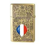WC(ダブリューシー) フリントオイルライター ワールドカップ フランス 2018WC LTD-FRA