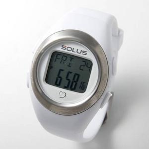 SOLUS(ソーラス)ハートレートウォッチ 心拍計測 01-800-202/ホワイト