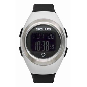 SOLUS(ソーラス) ハートレートウォッチ 心拍計測 01-800-205/ホワイト×ブラック