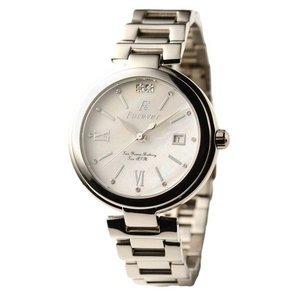 Forever(フォーエバー)  腕時計 デイト付き FG-1201-8 ホワイトシェル×シルバー