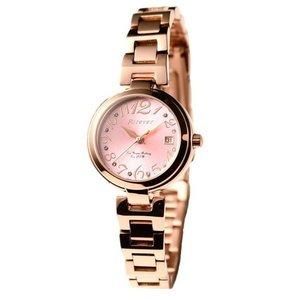 Forever(フォーエバー)  腕時計 デイト付き FL-1201-7 ピンク