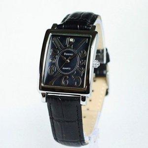 Forever(フォーエバー)  腕時計 1Pダイヤ FG-330SIBK ブラック×ブラック