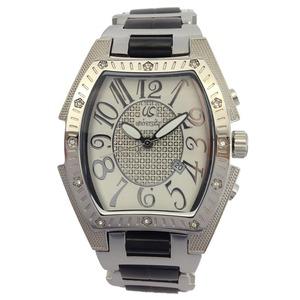 UNIVERSITY (ユニバーシティー) 腕時計 3針 デイト ホワイト