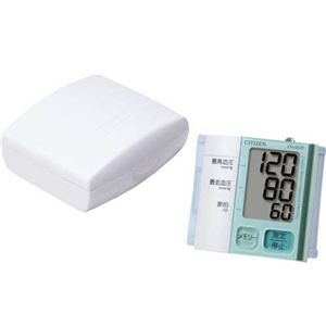 CITIZEN(シチズン) 手首式電子血圧計 CH657F ペパーミント