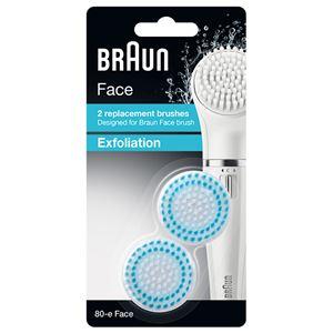 Braun(ブラウン) フェイス専用脱毛器 SE810用 角質ケアブラシ 80-E-FACE