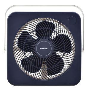 スクエアファン(サーキュレーター) 2段階風量調節可【APIX(アピックス)】ネイビー(紺) AFS-260-NV