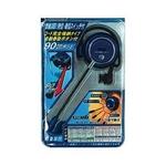 カシムラ 耳掛けイヤホンリール式2 AE-102 メタリックブルー