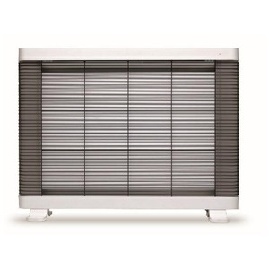 インターセントラル 遠赤外線ヒーター/電気暖房機 【4〜8畳 ホワイト】 温度過昇防止装置