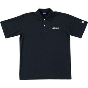 ASICS(アシックス) ポロシャツ ブラック OW6110 M