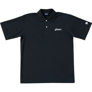 ASICS(アシックス) ポロシャツ ブラック OW6110 SS
