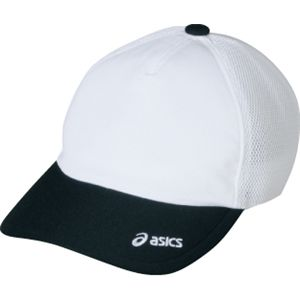 ASICS(アシックス) メッシュキャップ ホワイト×ブラック OWC103 M