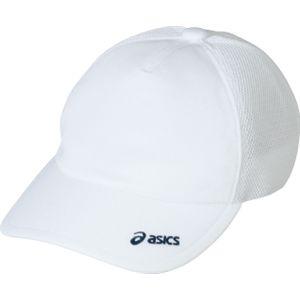 ASICS(アシックス) メッシュキャップ ホワイト OWC103 L