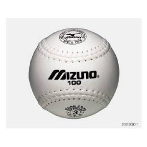 【(財)日本ソフトボール協会検定球】 )MIZUNO(ミズノ) 革ソフトボール試合球 「ビクトリー」 1ダース 2OS-10000 1ダース(12球)