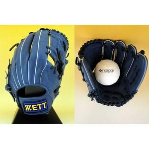 ZETT(ゼット) 一般ソフトボール用グローブ『GRANSTATUS(グランステイタス)』 オールラウンド用 ロイヤルブルー(2500) 右投用