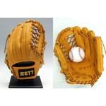 ZETT(ゼット) プロステイタス硬式グローブ 三塁手用 オークブラウン