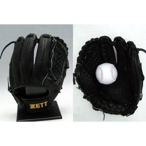 ZETT(ゼット) プロステイタス硬式グローブ 遊撃手・二塁手用 カタログ未掲載のブラック ブラック(1900)