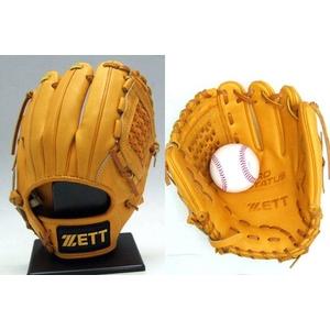 ZETT(ゼット) プロステイタス硬式グローブ 遊撃手・二塁手用 オークブラウン