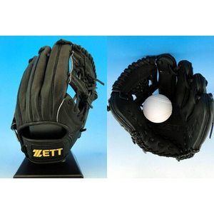 ZETT(ゼット)プロステイタスRNT 軟式用グローブ 遊撃手・二塁手用 ブラック(1900) 右投げ用 ブラック(1900) 右投げ用
