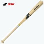 SSK(エスエスケイ) 硬式木製バット 『リーグチャンプ』 ナチュラル 84cm/900g平均