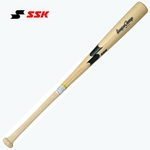 SSK(エスエスケイ) 硬式木製バット 『リーグチャンプ』 ナチュラル 85cm/900g平均
