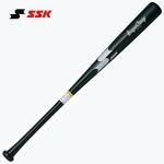SSK(エスエスケイ) 硬式木製バット 『リーグチャンプ』 ブラック 83cm/880g平均