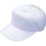 【カタログ掲載商品】 芯地採用で帽子本体をしっかり保型!! Rawlings(ローリングス) 『練習用帽子(八方)』 ホワイト M 【2セット】
