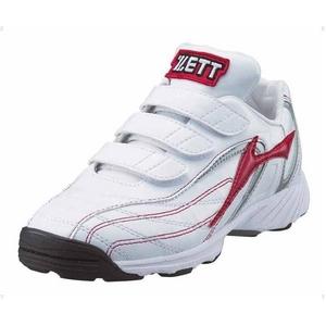 ZETT(ゼット) トレーニングシューズ カラーセレクトJX ホワイト×レッド(1164) 20.0cm