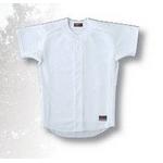 ZETT(ゼット)一般用『練習着ユニフォームシャツ』 ホワイト O6サイズ