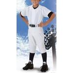 ZETT(ゼット)少年練習着上下セット シャツ+パンツ ユニフォーム ホワイト 160サイズ