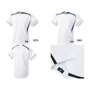 SSK(エスエスケイ) ダミーオープンプレゲームシャツ Dブルーライン S