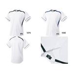 SSK(エスエスケイ) ダミーオープンプレゲームシャツ ブラックライン L