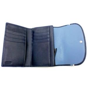 COACH(コーチ) シグネチャー スペクテーター 三つ折り財布 F45761SV/NV