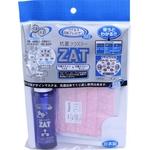 ZAT抗菌デザインマスク + 抗菌スプレー ×6個セット 【大人用 水玉 ピンク】