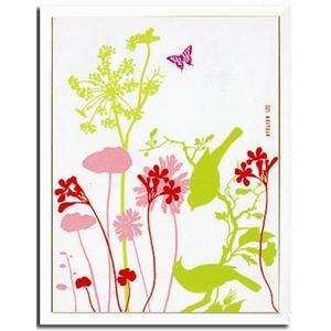 風景専門店あゆわら 《アートフレーム》Fleurs et oiseaux