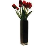 《造花・花瓶》F-style vase Tulip / Red(チューリップ/レッド) タイプ1 【サイズ H550mm】