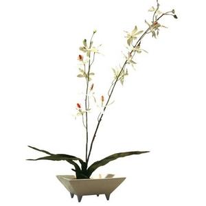 風景専門店あゆわら 《造花・花瓶》F-style vase Odontocidium(オドントシジウム(ラン))