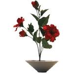 《造花・花瓶》F-style vase Hibiscus(ハイビスカス)