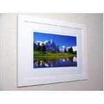 《アートフォトフレーム》スイス アイガーが映る池