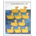 風景専門店あゆわら 《エリック・カール》Eric Carle 10匹のおもちゃのあひるの物語(10 Little Rubber Ducks)