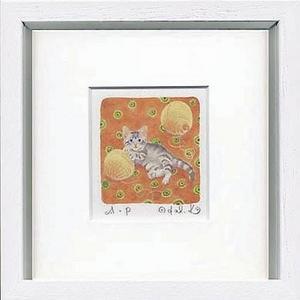 風景専門店あゆわら 《栗乃木ハルミ くりのき はるみ アートフレーム》Woolen yarn