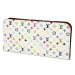Louis Vuitton(ルイヴィトン) モノグラム・マルチカラー ポルトフォイユ アンソリット M93752 長財布 レディース ホワイト×ピンク