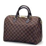 Louis Vuitton(ルイヴィトン) ダミエ スピーディ バンドリエール30 N41183 ハンドバッグ レディース ダークブラウン