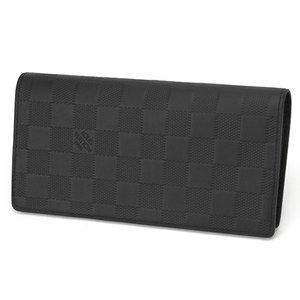 Louis Vuitton(ルイヴィトン) ダミエ・グラフィット ポルトフォイユ・ブラザ N63010 長財布 メンズ ブラック